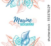 Hand Drawn Vector Colorful...