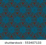 modern stylish texture.stylish... | Shutterstock .eps vector #553407133