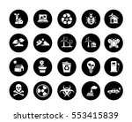 ecology icons | Shutterstock .eps vector #553415839