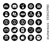 investment icons | Shutterstock .eps vector #553415980