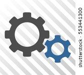 gears vector icon. illustration ...   Shutterstock .eps vector #553441300