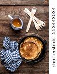 pancakes   Shutterstock . vector #553443034