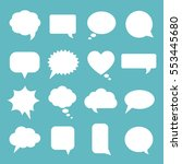 communication bubbles   Shutterstock .eps vector #553445680