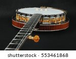 Mahogany Banjo Luxury Gold...