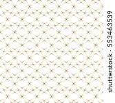 Geometry Gold Grid Pattern...