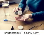 take medicine pills fever