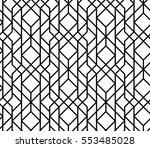 seamless geometric pattern.... | Shutterstock .eps vector #553485028