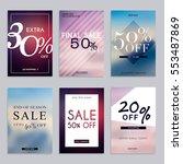 sale website banners web... | Shutterstock .eps vector #553487869