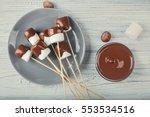 Chocolate Fondue With...