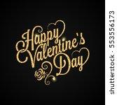 valentines day vintage...   Shutterstock .eps vector #553556173