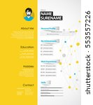 creative cv template with...