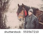 pietrosani  romania   january 6 ... | Shutterstock . vector #553567210