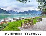 zeller see salzburg  austria.... | Shutterstock . vector #553585330