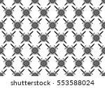 sword shield pattern texture.... | Shutterstock .eps vector #553588024
