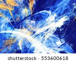 winter sunny day. abstract... | Shutterstock . vector #553600618