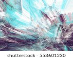 abstract blue  purple and white ... | Shutterstock . vector #553601230