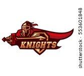 knights | Shutterstock .eps vector #553601848