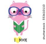 cute cat | Shutterstock .eps vector #553610110