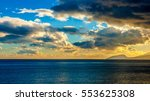 beautiful sunset over the bay | Shutterstock . vector #553625308