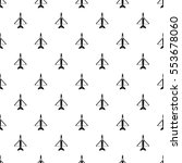 military aircraft pattern.... | Shutterstock .eps vector #553678060