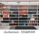 books in a public library   Shutterstock . vector #553689349