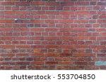 grunge red brick wall texture...   Shutterstock . vector #553704850