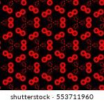 abstract seamless geometries... | Shutterstock .eps vector #553711960