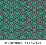 modern geometric seamless...   Shutterstock .eps vector #553717603