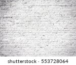 White Grunge Brick Wall...