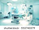 blurred background of modern... | Shutterstock . vector #553740379