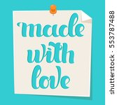 "handwritten inscription ""made... 