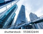 the skyscraper external... | Shutterstock . vector #553832644