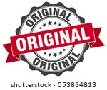 original. stamp. sticker. seal. ... | Shutterstock .eps vector #553834813