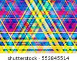 abstract colorful background... | Shutterstock . vector #553845514