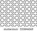 pattern  black geometric... | Shutterstock .eps vector #553846069
