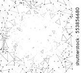geometric simple minimalistic... | Shutterstock .eps vector #553856680
