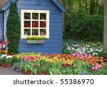 Fairy Tale Wooden Hut In The...