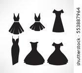 vintage dresses silhouette