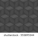 seamless geometric pattern... | Shutterstock .eps vector #553895344