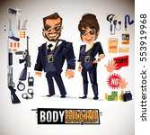 bodyguard character design with ...