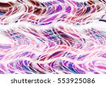 colorful wavy background... | Shutterstock . vector #553925086