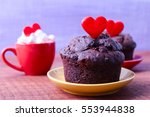 Valentine's Day Cupcake Hearts