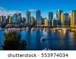 Stock photo beautiful view of vancouver british columbia canada 553974034