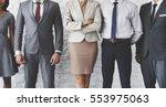 business team office worker... | Shutterstock . vector #553975063