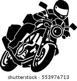 Motorcycle Silhouette Free Vector Art 7457 Free Downloads