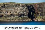 Cliffs On The Western Coast Of...
