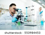 chemical studies | Shutterstock . vector #553984453