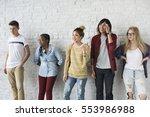 studio shoot people portrait... | Shutterstock . vector #553986988