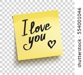 "yellow sticky note with text ""i ... 