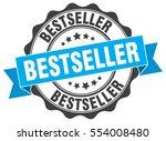 bestseller. stamp. sticker.... | Shutterstock .eps vector #554008480